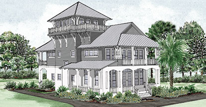 Gulf Splendor Home Plan