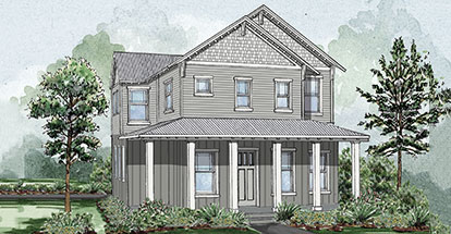 Laurelwood A Home Plan