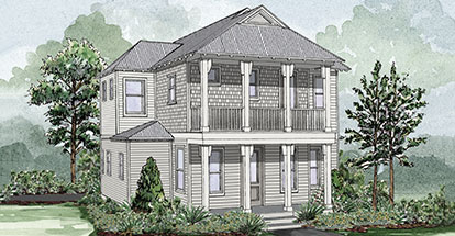 Laurelwood B Home Plan