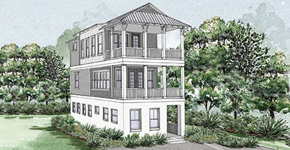 Paradise by the Sea Home Plan