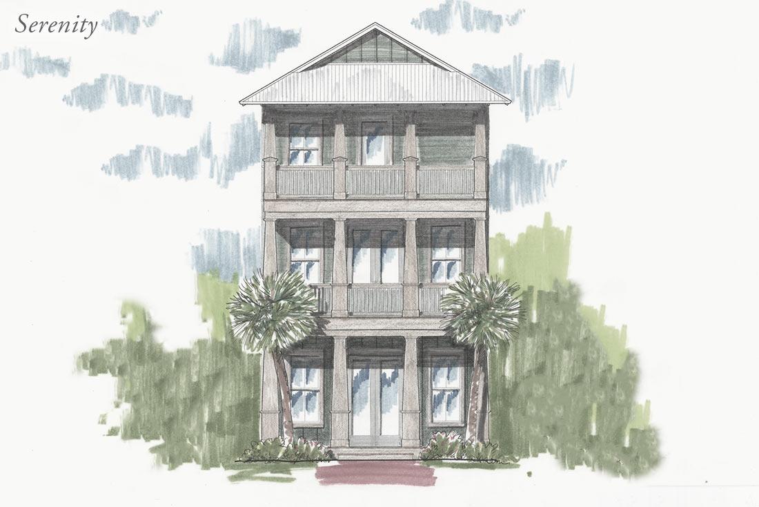Carillon Beach House Plans